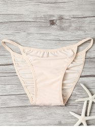 Low Waisted String Bikini Bottom