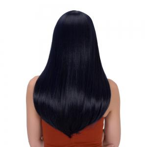 Long Full Bang Tail Adduction Gorgeous Synthetic Wig -