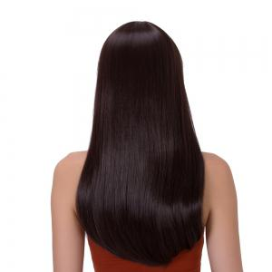 Long Full Bang Tail Adduction Stunning Synthetic Wig -