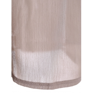 Peasant Openwork Chiffon Dress -
