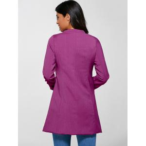Single Button Slimming Coat -