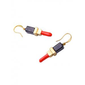 Fashion Rouge Hook Earrings -