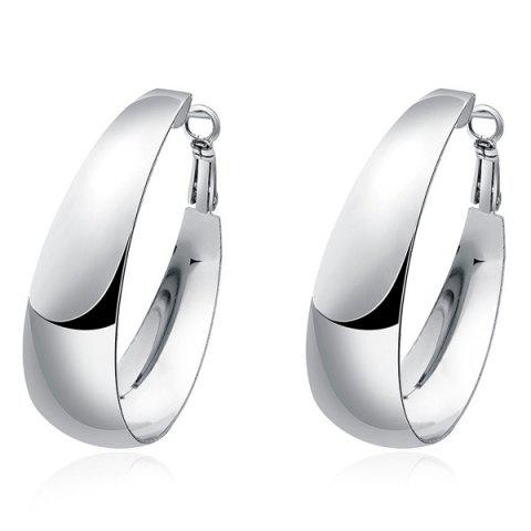 Shop Alloy Hoop Earrings