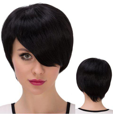 Outfits Ultrashort Side Parting Straight Synthetic Wig