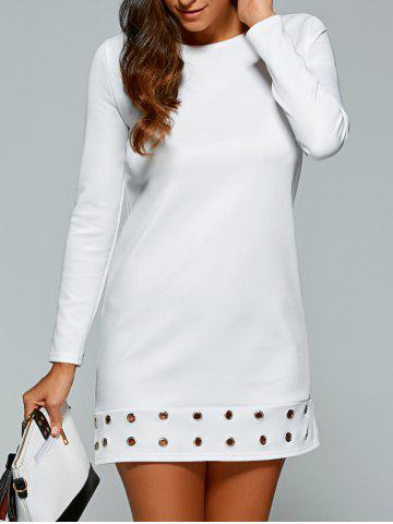 Latest Long Sleeve T-Shirt Mini Dress
