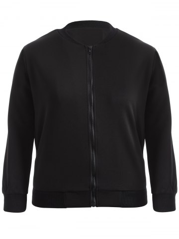 Sale Plus Size Bomber Jacket