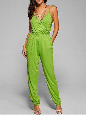 Outfits Spaghetti Strap Crossover Jumpsuit