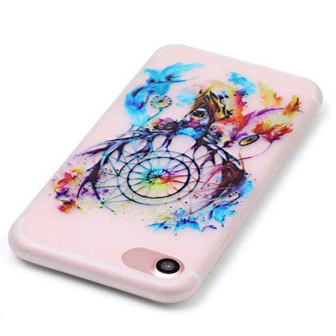Hot Deer Head TPU Silica Night Noctilucent Phone Back Case For iPhone 7 - TRANSPARENT  Mobile