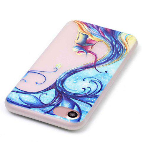 New For iPhone 7 TPU Silica Night Luminous Phone Back Case - TRANSPARENT  Mobile