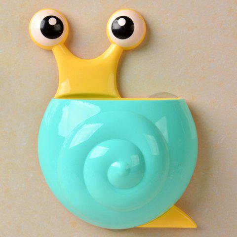 Unique Multifunctional Cartoon Snail Wall Sucker Novelty Storage Box