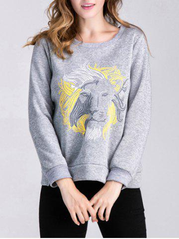 New Lion Pullover Sweatshirt