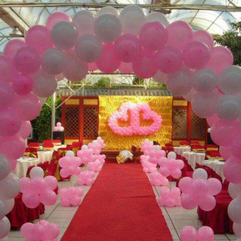 Online 100PCS Christmas Festival Wedding Party Supplies Heart Balloon Decoration COLORFUL