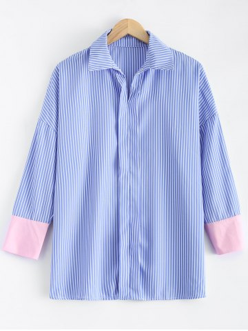 Best Drop Shoulder Striped Shirt