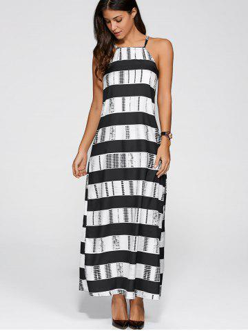 Outfit Striped Maxi Dress
