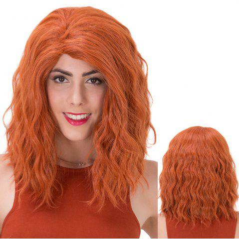 Buy Shaggy Medium Curly Synthetic Wig