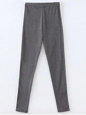 Chic Casual Color Block Gym Pants