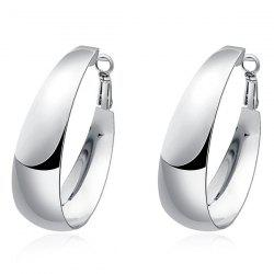 Alloy Hoop Earrings