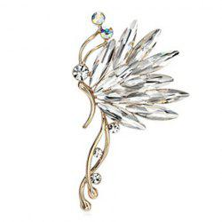 Faux Crystal Graceful Butterfly Ear Cuff