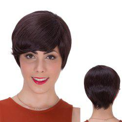 Gorgeous Short Side Bang Straight Synthetic Wig -