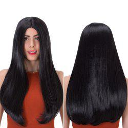 Long Middle Part Tail Adduction Stunning Synthetic Wig