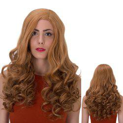 Long Side Parting Wavy Shaggy Synthetic Wig -