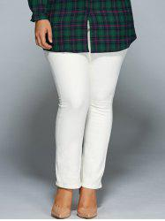 Plus Size Bodycon Jeans -