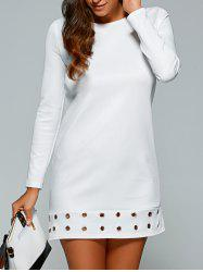 Long Sleeve T-Shirt Mini Dress -