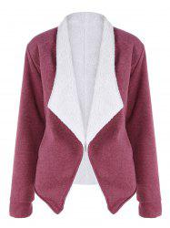 Double Faced Fleece Jacket -