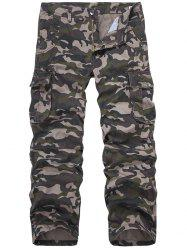 Camo Print Military Army Cargo Pants -