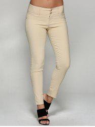 Fitted Pencil Pants -