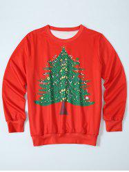 Christmas Tree Pullover Sweatshirt