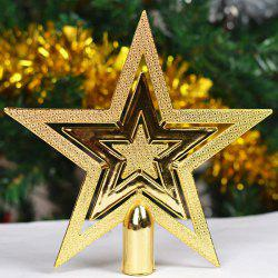 2PCS Festival Party Supplies Christmas Tree Stars Decoration
