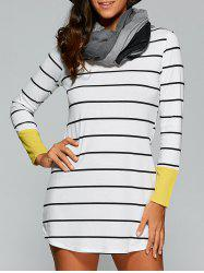 Tunic Striped T-Shirt Dress