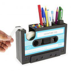 Creative Office Stationery Tape Shape Pen Container -