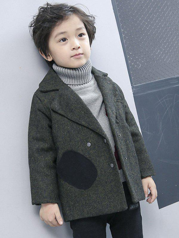 Outfit Boys Double-Breasted Wool Coat