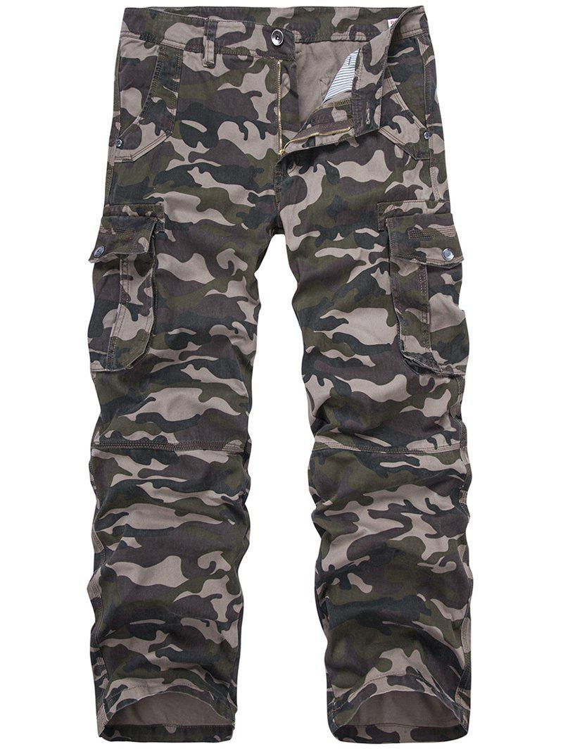 Shop Camo Print Military Army Cargo Pants