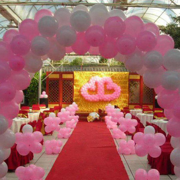 online 100pcs christmas festival wedding party supplies heart balloon decoration - Christmas Balloon Decor
