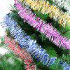 5PCS Christmas Party Colorful Ribbon Star Rattan Decoration - COLORFUL