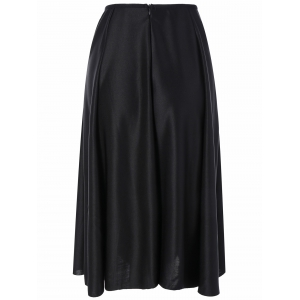 High Waisted Midi Skirt -