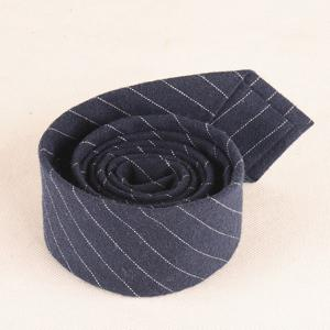 Skinny Stripe Pattern Tie Pocket Square and Bow Tie -