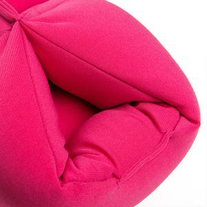 Comfortable Relieving Pressure Beauty Leg Cushion Pillow - ROSE RED