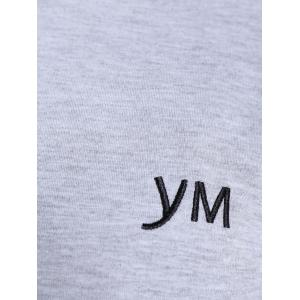 YM Pullover Embroidered Sweatshirt -