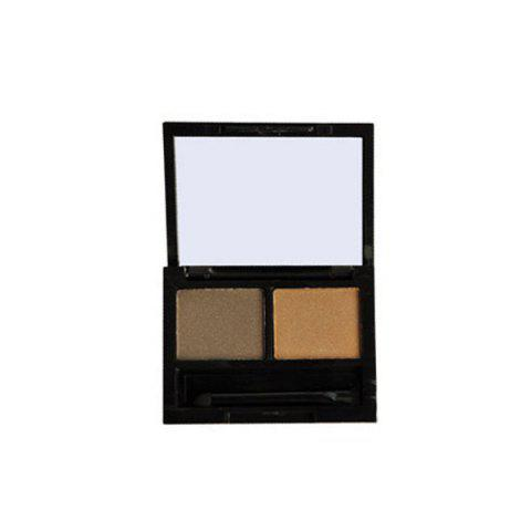 Affordable 2 Colours Waterproof Eyebrow Kit