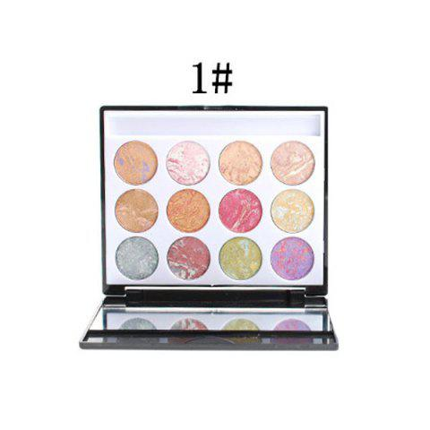 Shops 12 Colours Eyeshadow Palette Kit