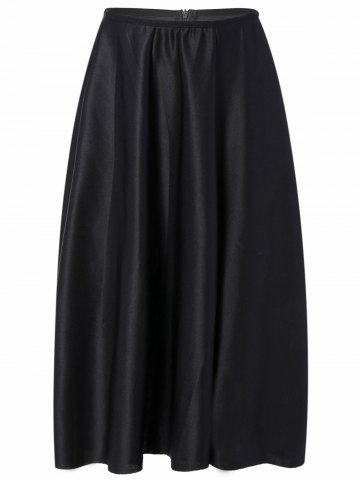 Store High Waisted Midi Skirt