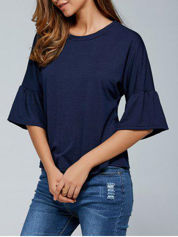 Best Round Neck Flare Sleeves T-Shirt