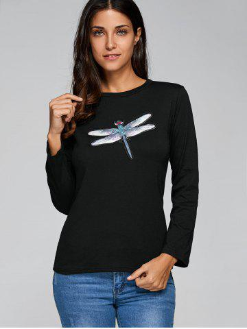New Long Sleeve Dragonfly T-Shirt