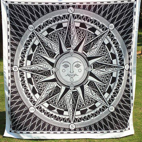 New Casual Sun God Totem Square Scarf