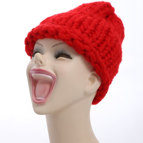 Affordable Funny Christmas Coarser Knit Chunky Hat