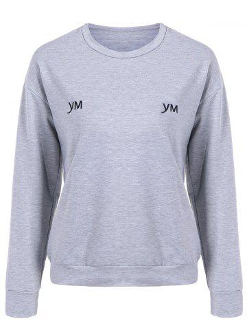 Outfit YM Pullover Embroidered Sweatshirt